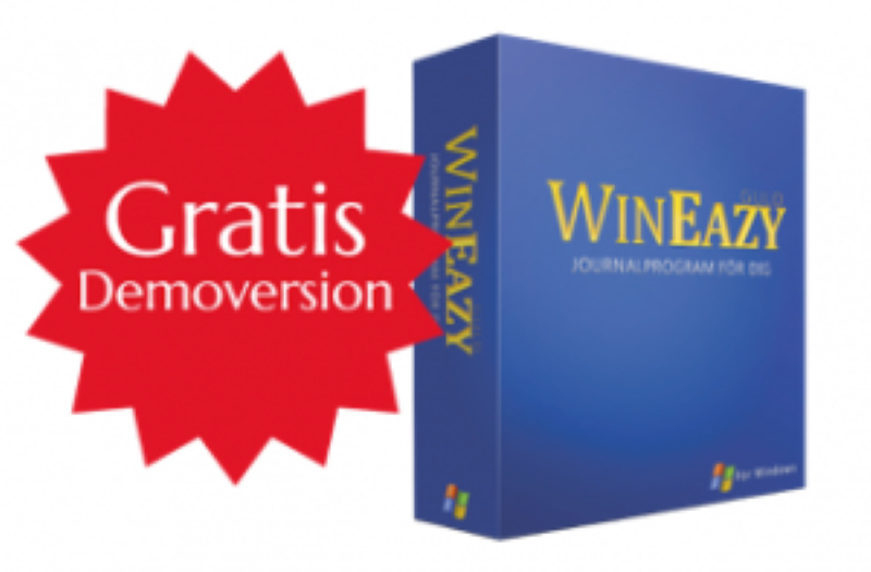 Journalprogram WinEazy Guld - Gratis demoversion