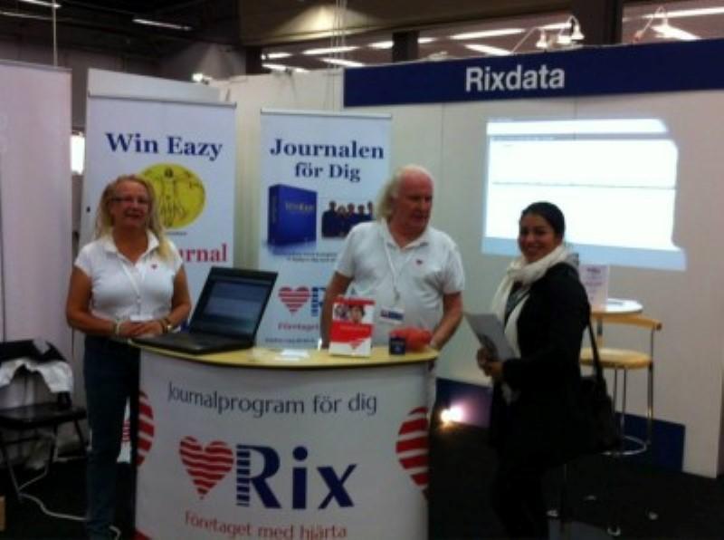 RixData under Sjukgymnastdagarna 2013