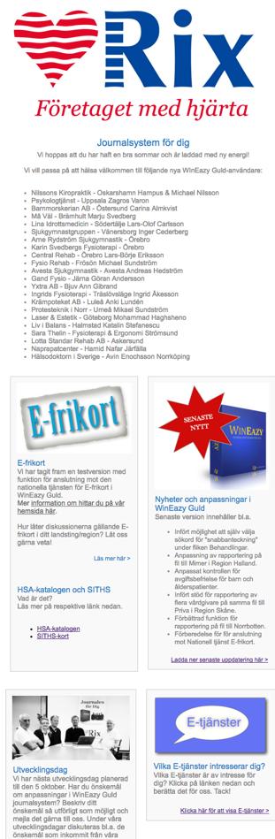 NyhetsMail September -16   RixData journalsystem