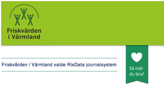 Friskvården i Värmland valde RixData journalsystem