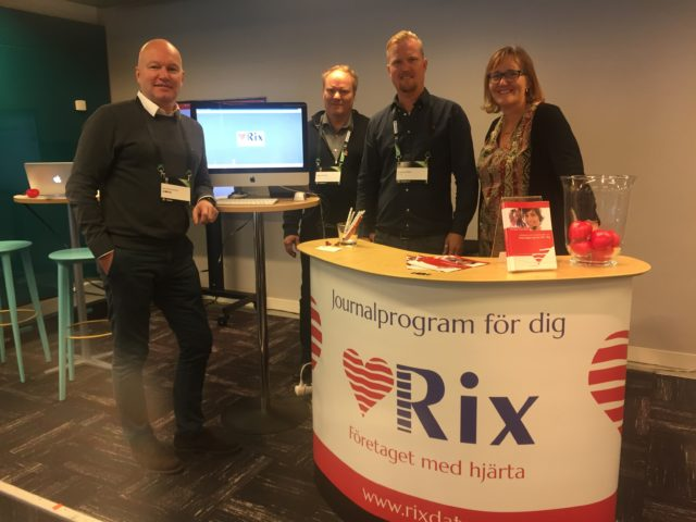 RixDatas monter under Fysioterapi 2017
