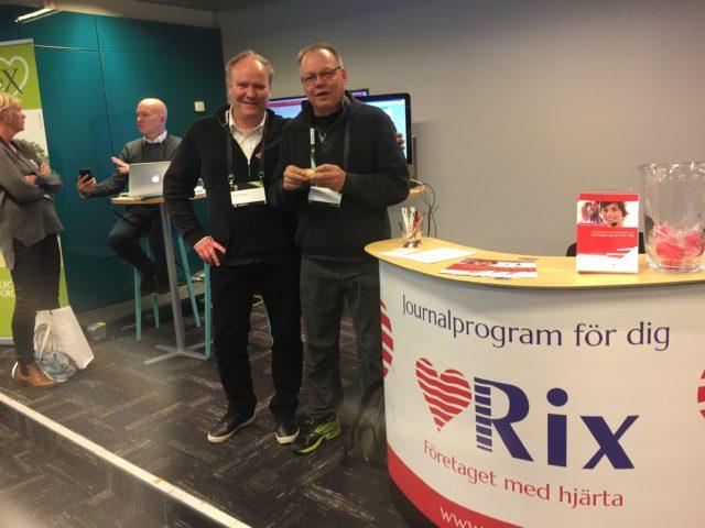 Trevliga möten under Fysioterapi 2017 | RixData journalsystem